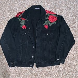 LF Black Denim Jacket